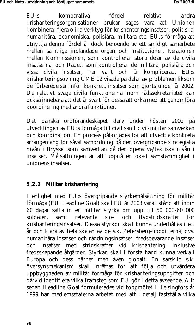 Bosnien eu vill samordna fredsforsok