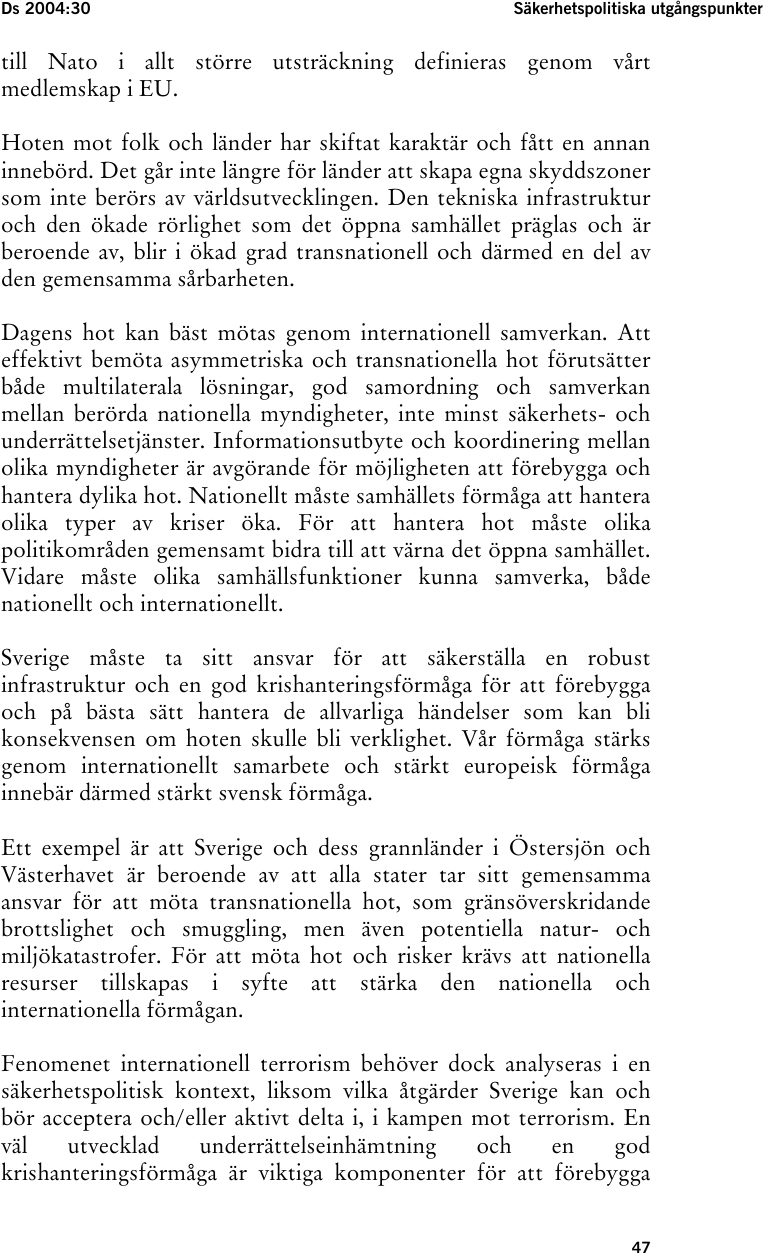 Svensk fredsinvit