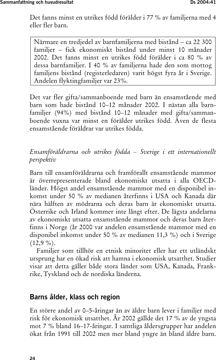 Sverige fran utsidan sjukvard och utslangda fader
