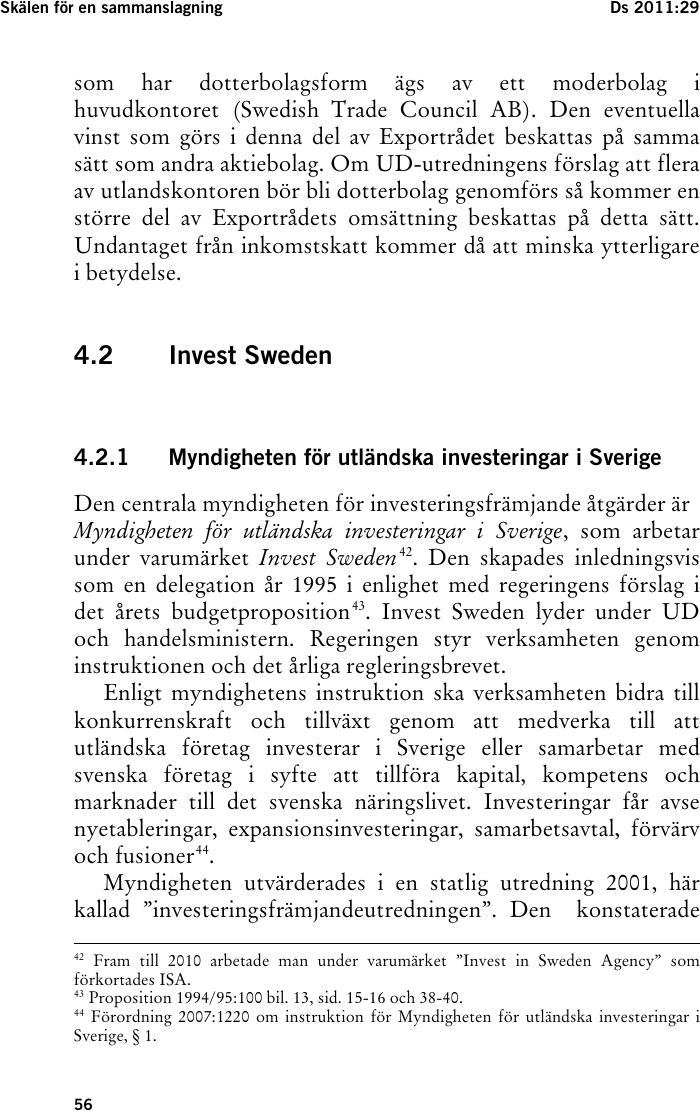 Form exportradet soker svensk identitet