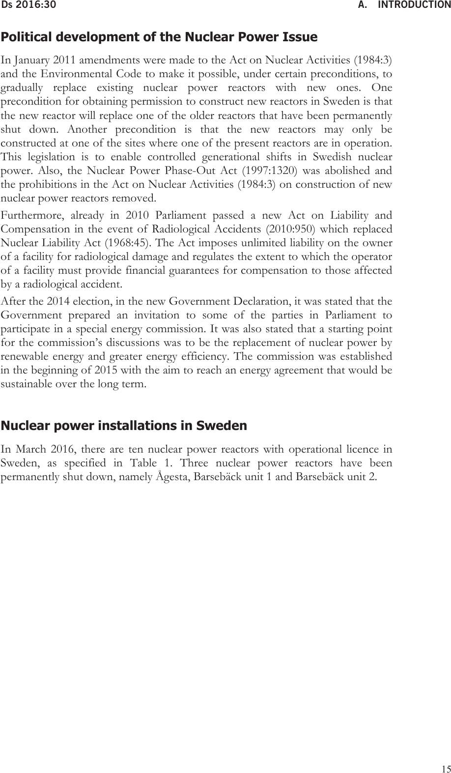 Sweden's seventh national report under the Convention on Nuclear