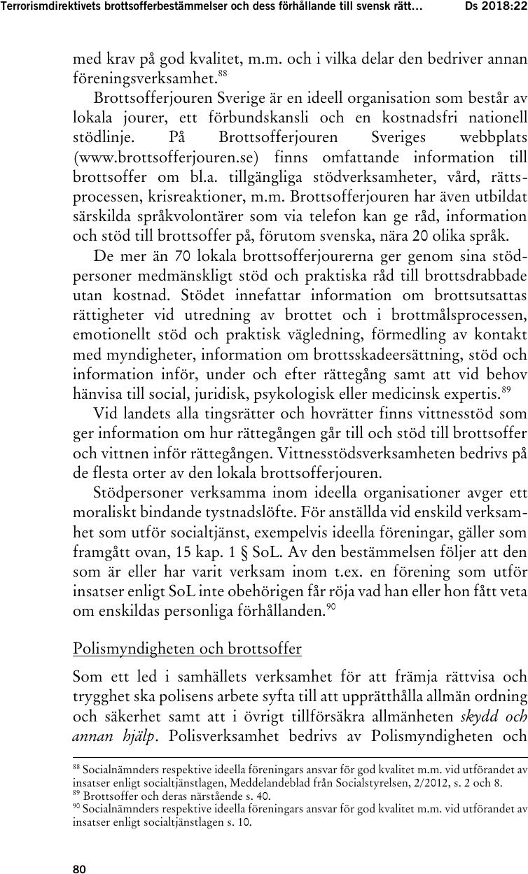 Insatser mot trafficking i stockholmsprogrammet