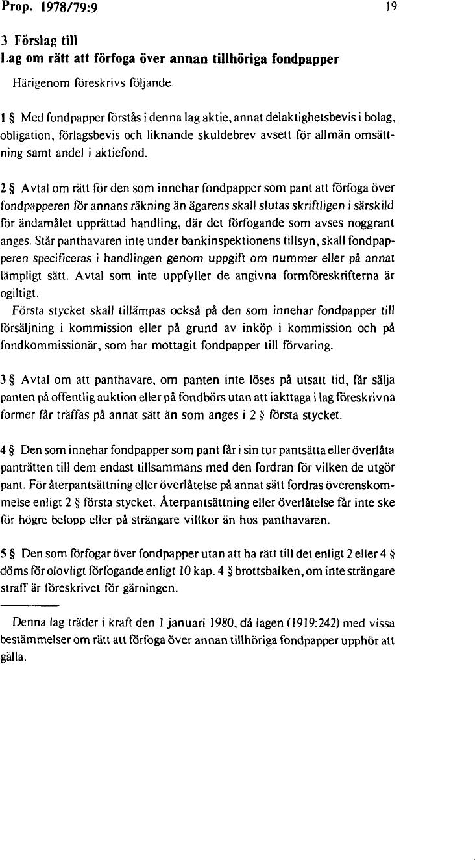 med förslag till fondkommissionslag 20c48c2a2b11b