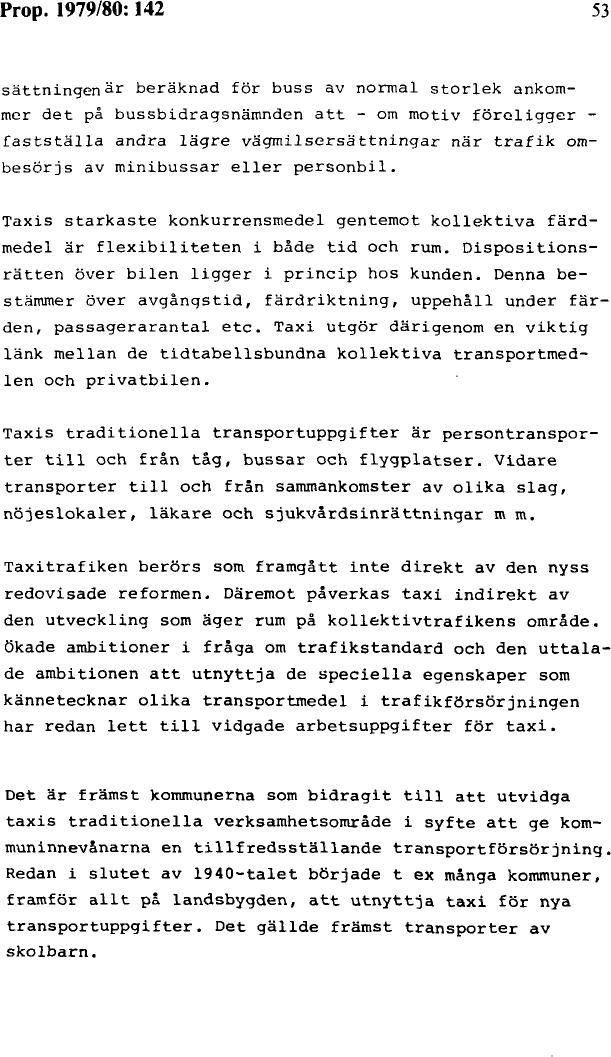 Rakna med dyrare taxiresor framover