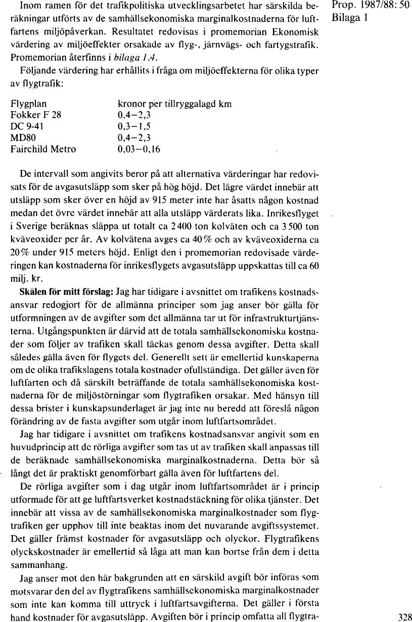 om trafikpolitiken inför 1990-talet  a08fe808eeefb