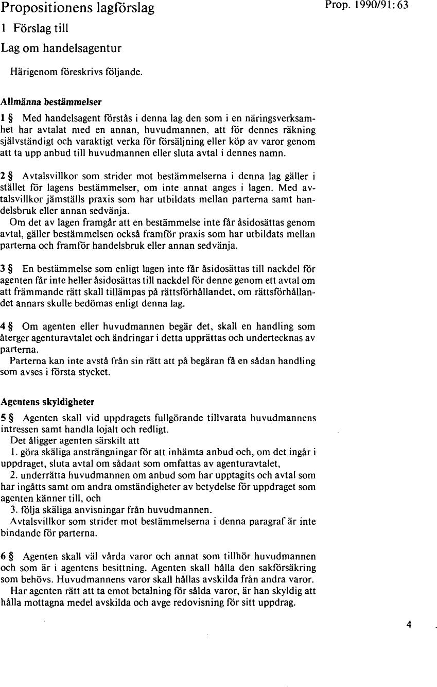 Propositionens lagförslag ... 9bfbeb639693a
