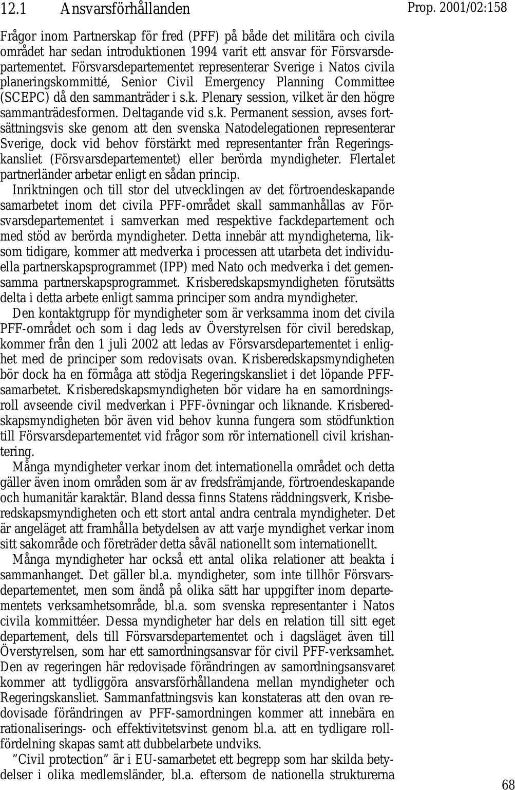 Fragor och svar 2001 12 02