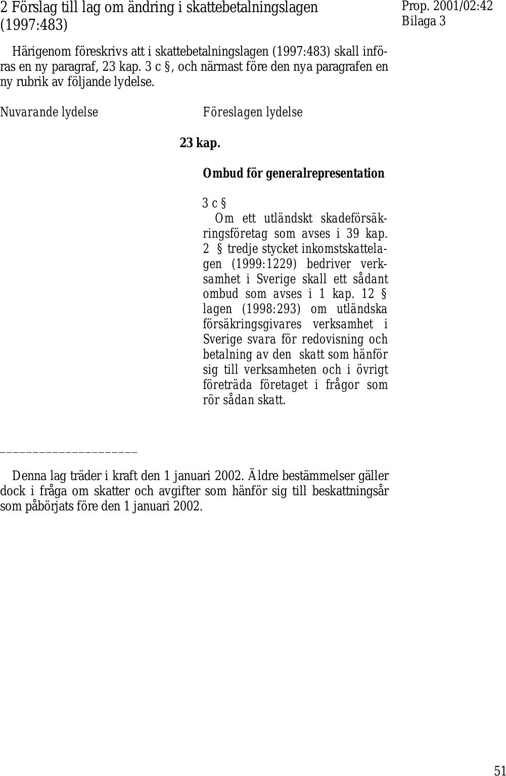 e2fd64d37bb Övergång till en konventionell beskattningsmetod för utländska ...
