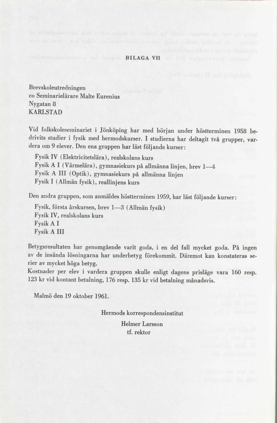 06fc3b776512 Korrespondensundervisningen inom skolväsendet | lagen.nu