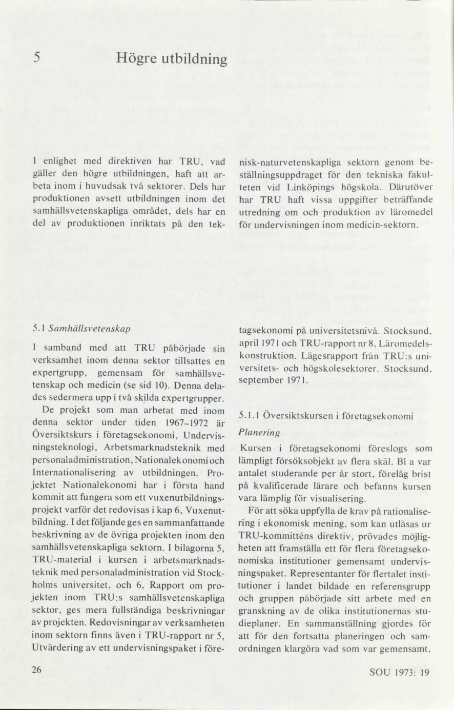 newest 7d93e 017d6 TRU s försöksverksamhet 1967-1972   lagen.nu