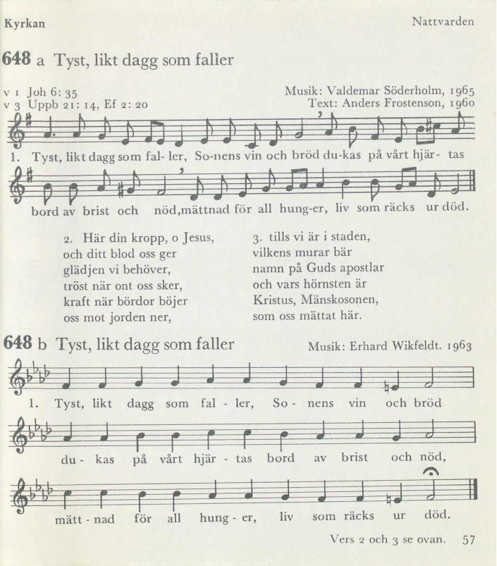 Text musik karlek som flyr pa tysta vingar