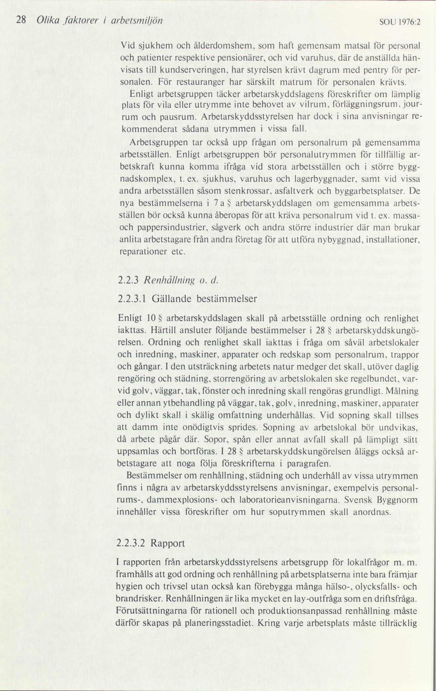 Bakgrund till förslag om arbetsmiljölag   bilaga 1 till ... c4996dbed0f08