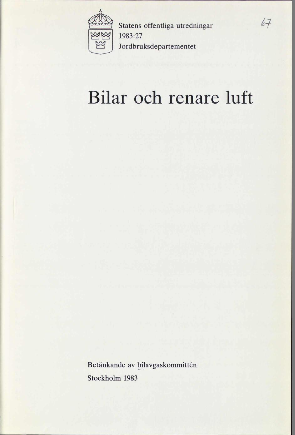 Svensk modell for renare luft i usa