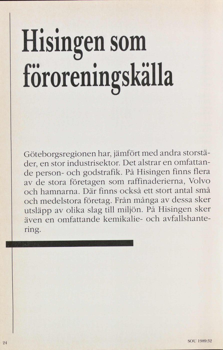 Miljöprojekt Göteborg - för ett renare Hisingen   rapport från ... 352ca3996e599