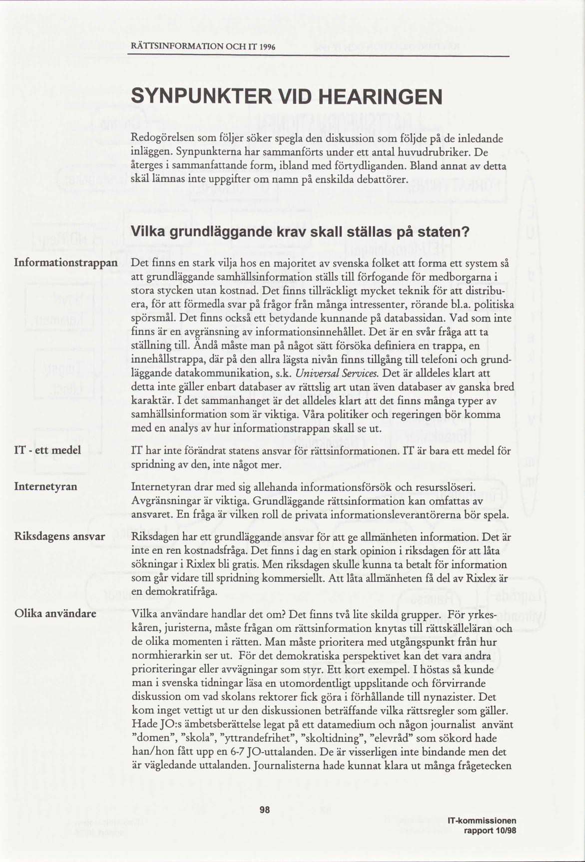 Namn och nytt idag 1996 10 12