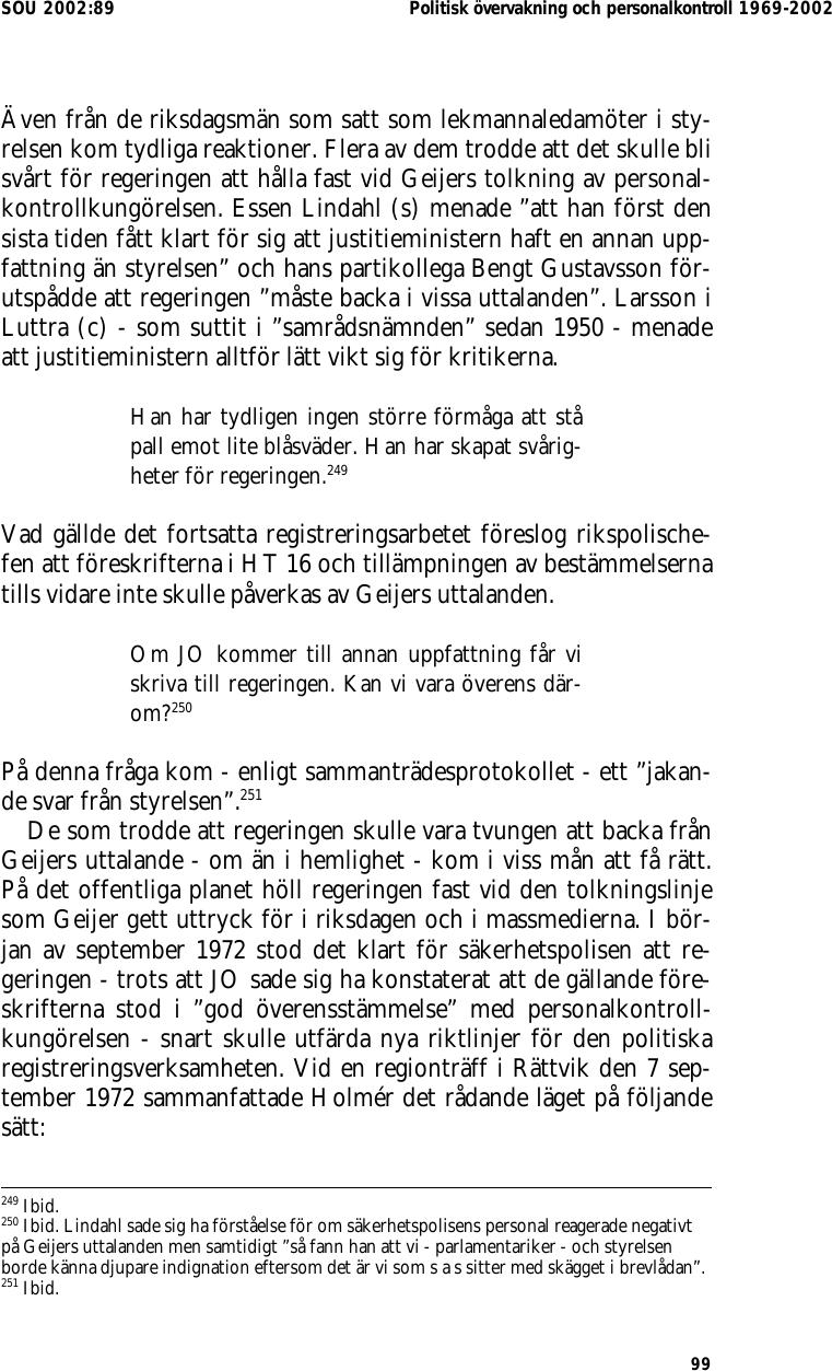 Chefen for norska lo i blasvader