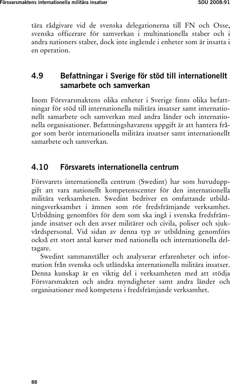 Svensk depression efter den katastrofala forlusten