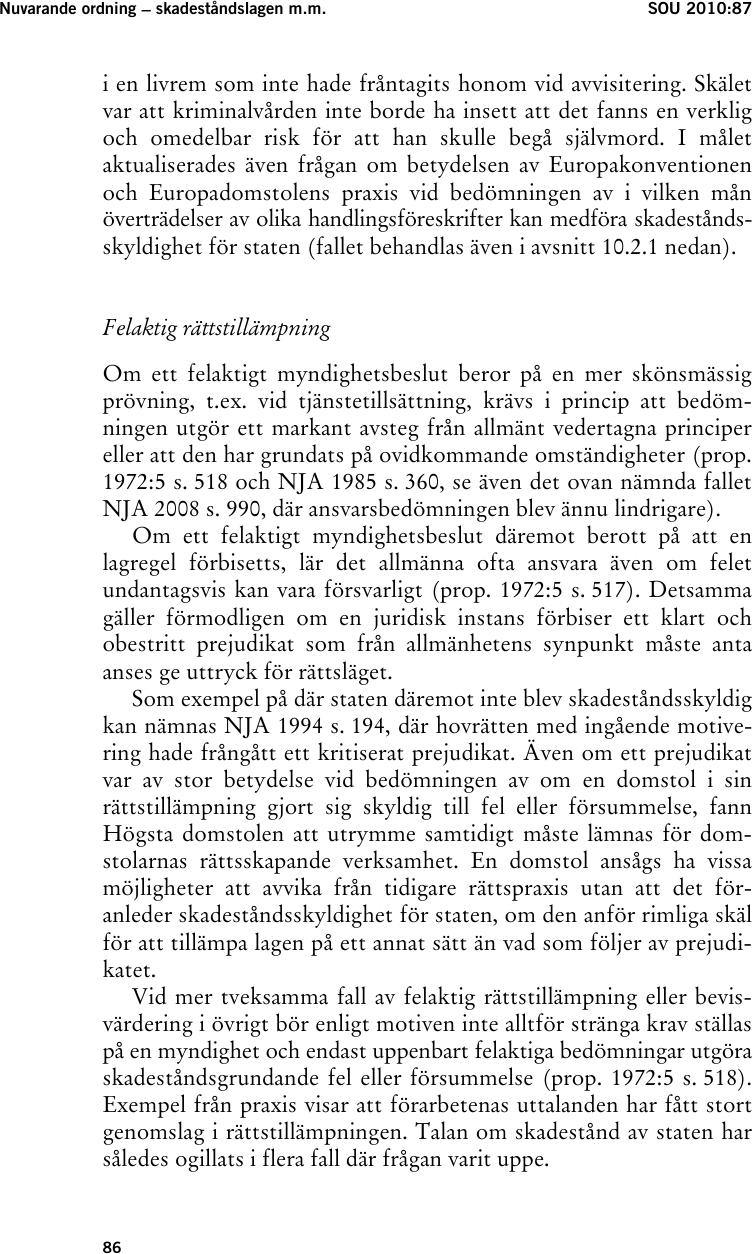 Frikand svensk kraver skadestand av polen