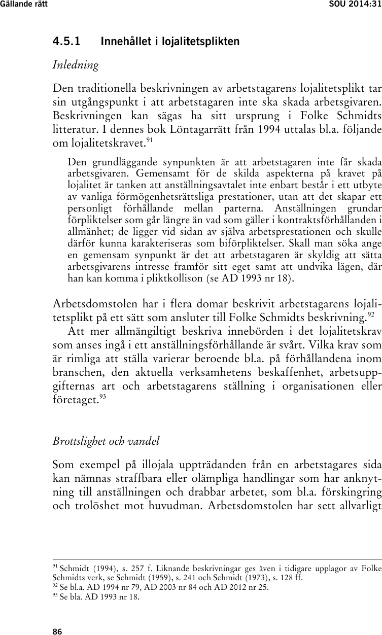 Ericsson anmaler tidigare anstalld for forskingring